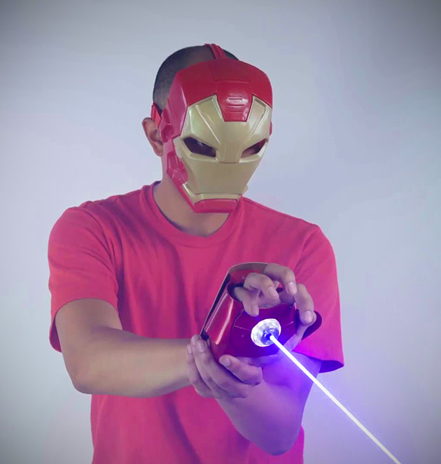 Homemade Iron Man Glove