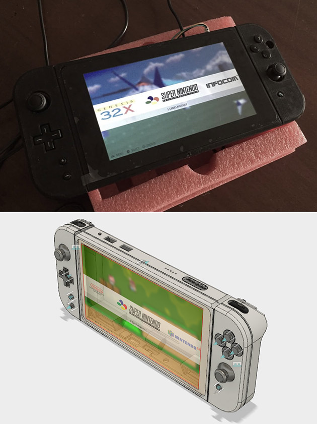 Homemade Nintendo Switch
