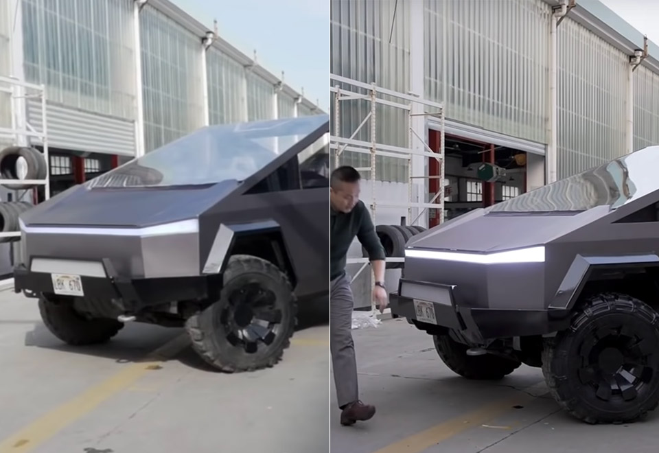 DIY Tesla Cybertruck China