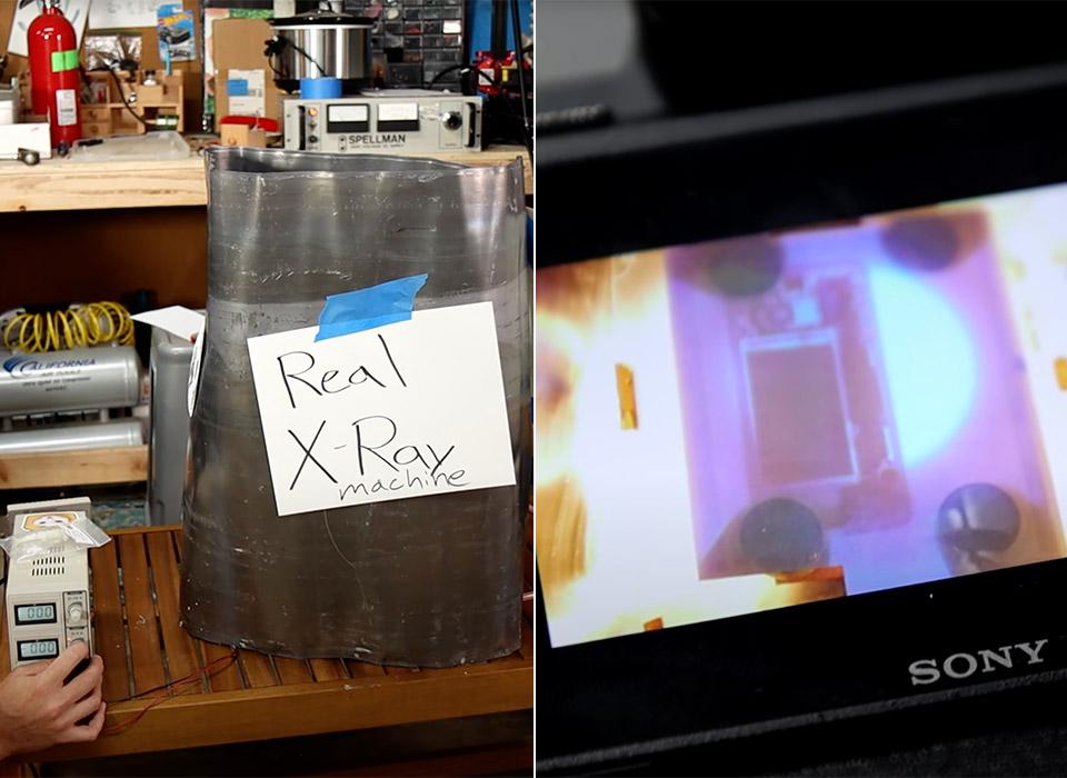 Homemade X-Ray Machine William Osman