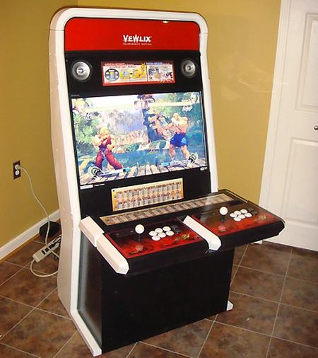 Amazing Homemade Street Fighter 4 Arcade Cabinet & Amazing Homemade Street Fighter 4 Arcade Cabinet - TechEBlog