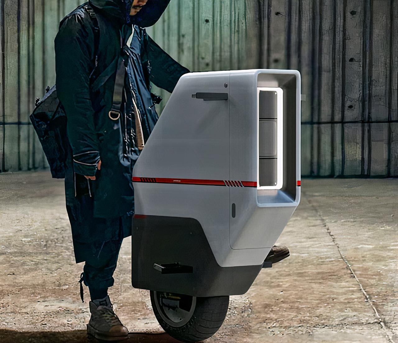 Honda Baiku Self-Balancing Electric Scooter