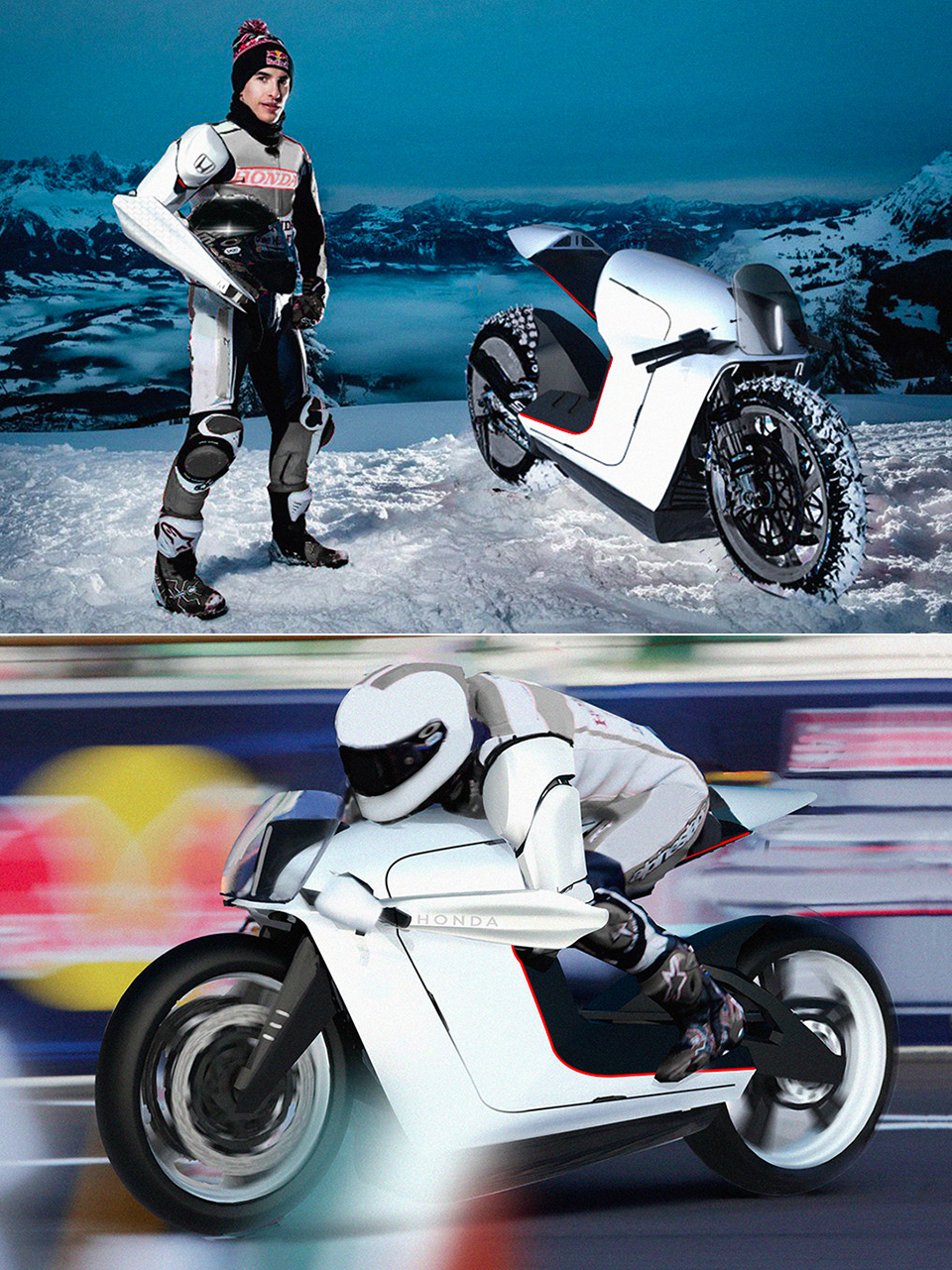 Honda Bionic Arm Motorcycle