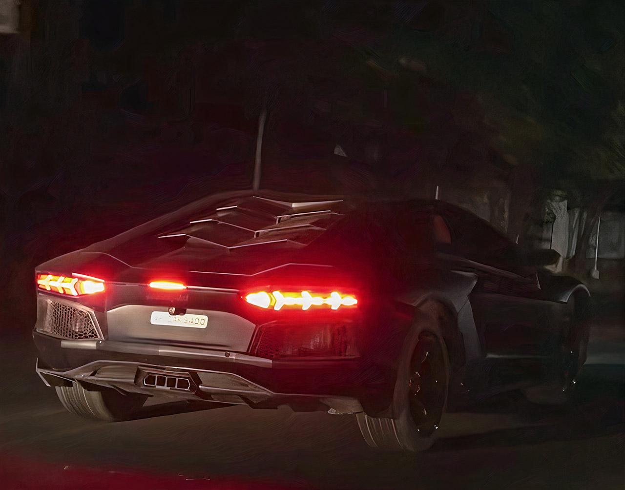 Honda Civic Lamborghini Aventador Replica