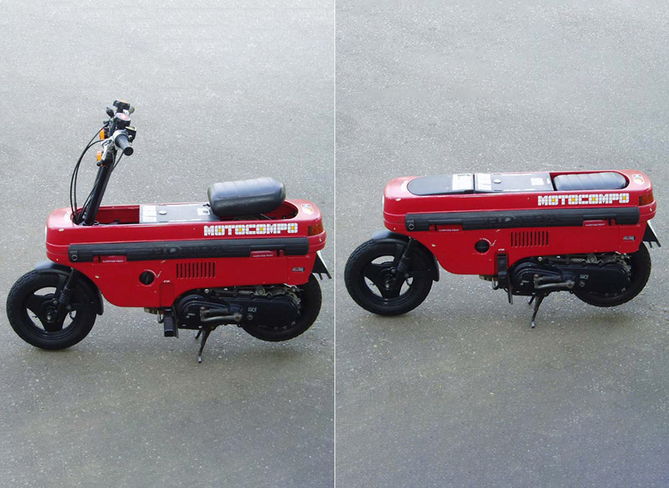 Honda Motocompo Motocompacto Electric Scooter