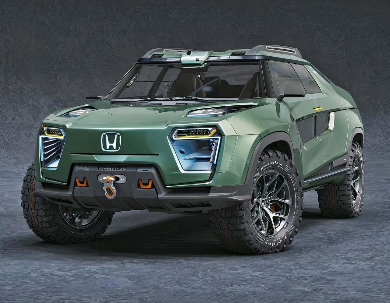 Honda Ridgeline EV Halo Infinite