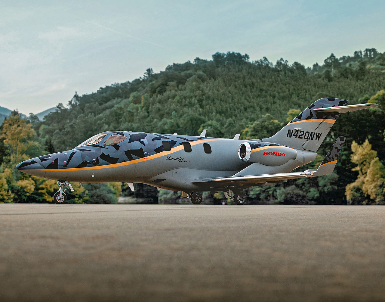 HondaJet Elite S Private Business Jet Plane