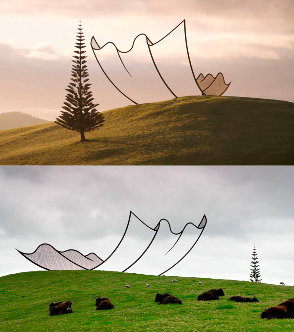 Horizons Sculpture Illusion