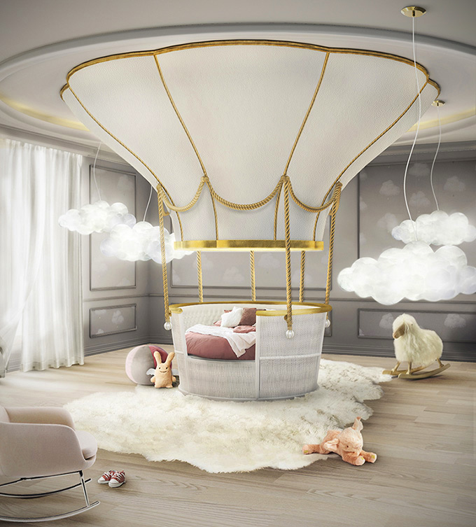 Superbe Awesome Bed Looks Like A Real Hot Air Balloon, Doubles As Sofa