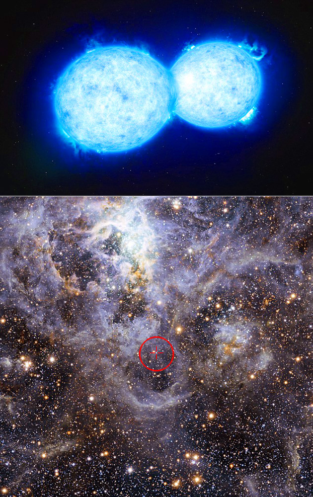 Hottest and Largest Double Star System