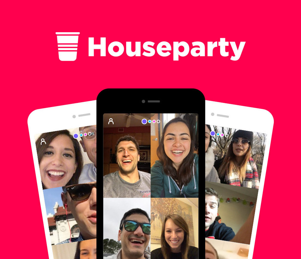 Houseparty App Coronavirus