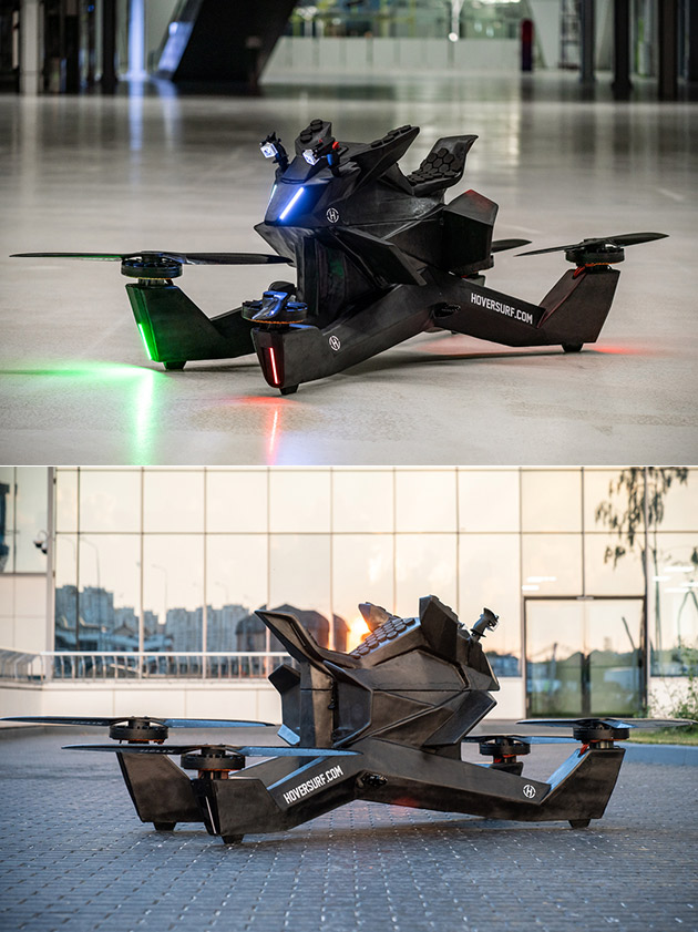 This is Not a New Star Wars Vehicle, Just Hoversurf's HOVERBIKE S3