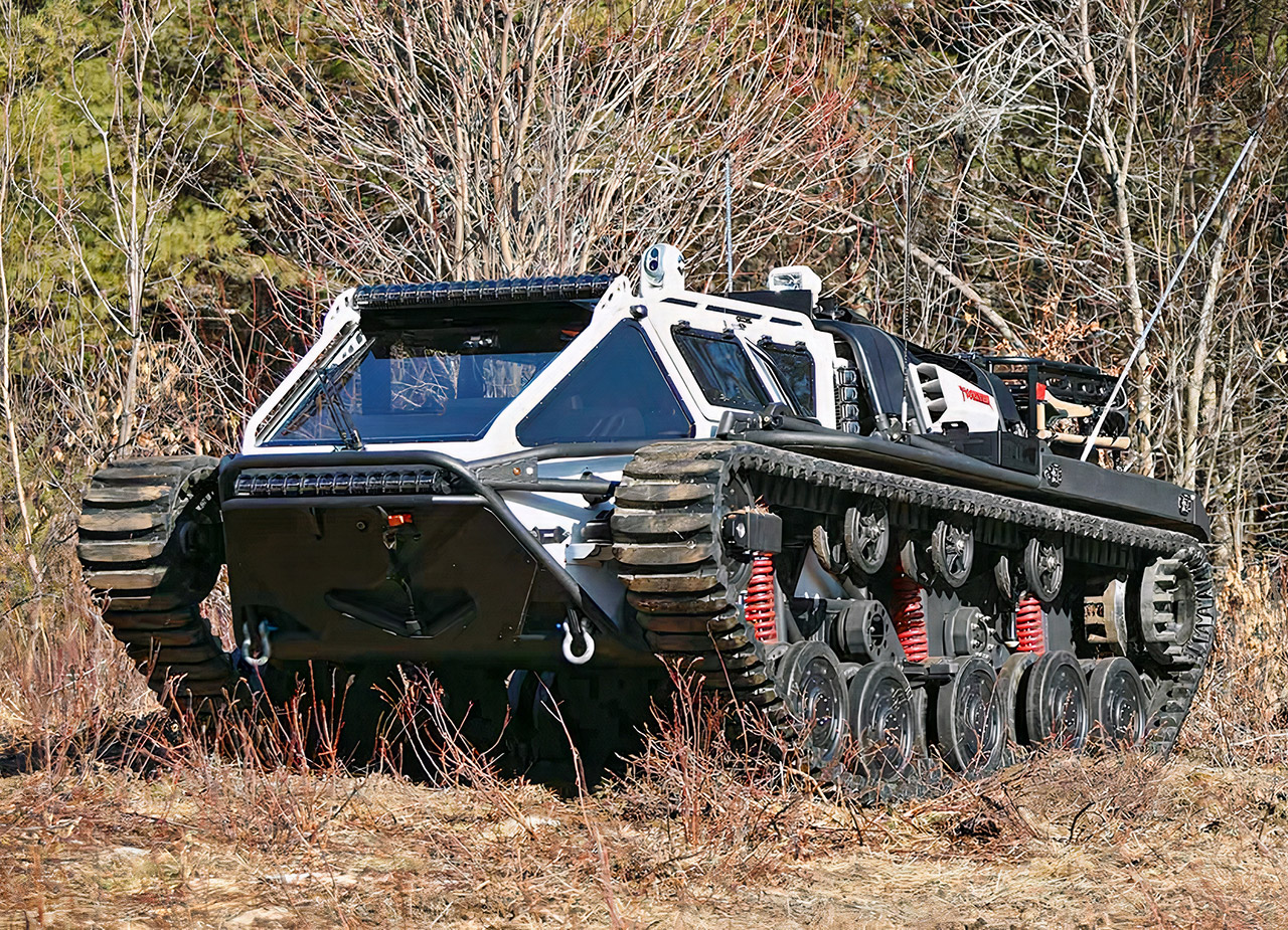 Howe and Howe 2020 Ripsaw EV3 F4 Super Tank