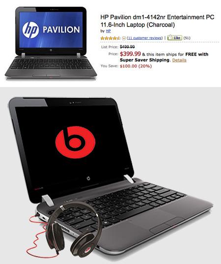 HP Pavilion DM1 11.6in Entertainment Laptop Offers Beats ...
