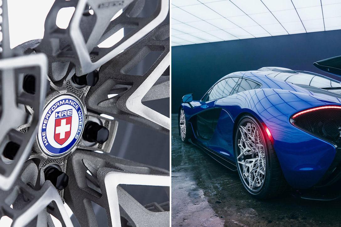 HRE3D+ 3D-Printed Titanium Wheel