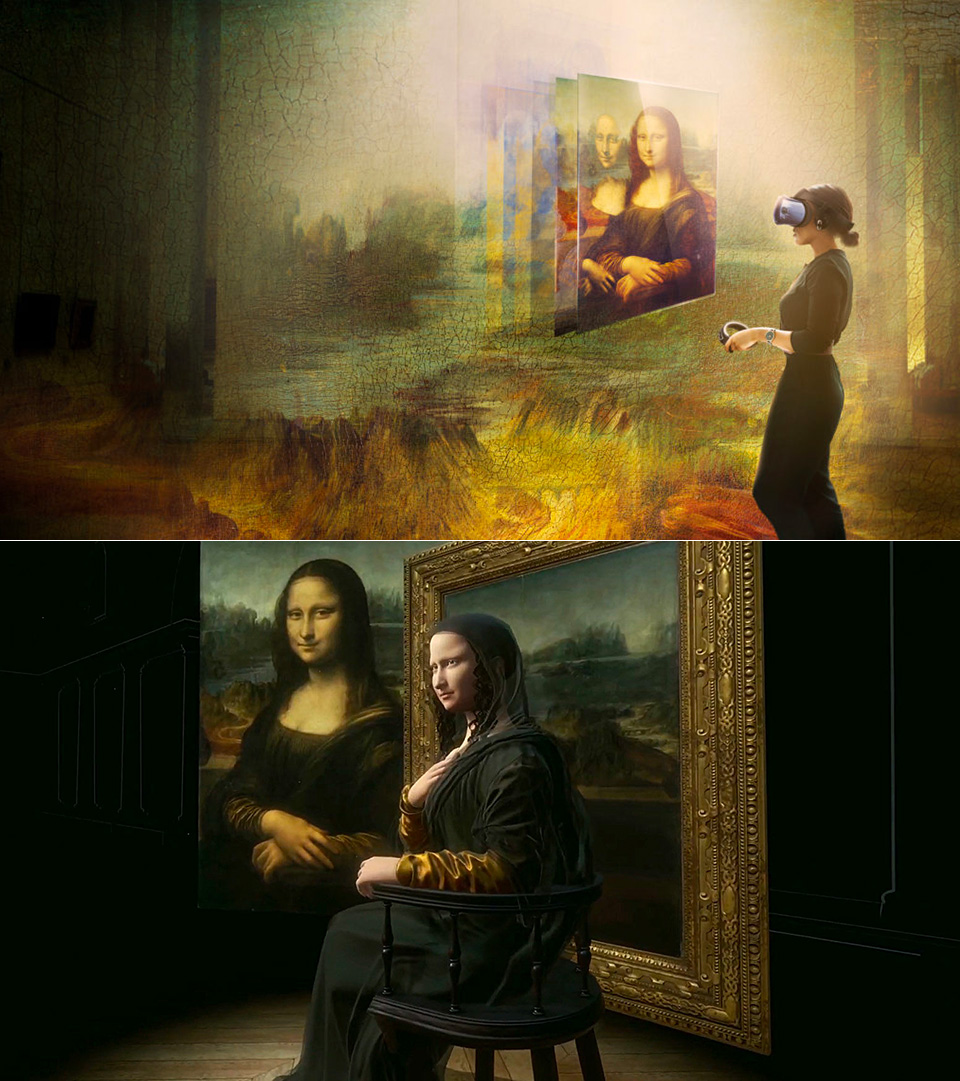 HTC Mona Lisa Experience VR