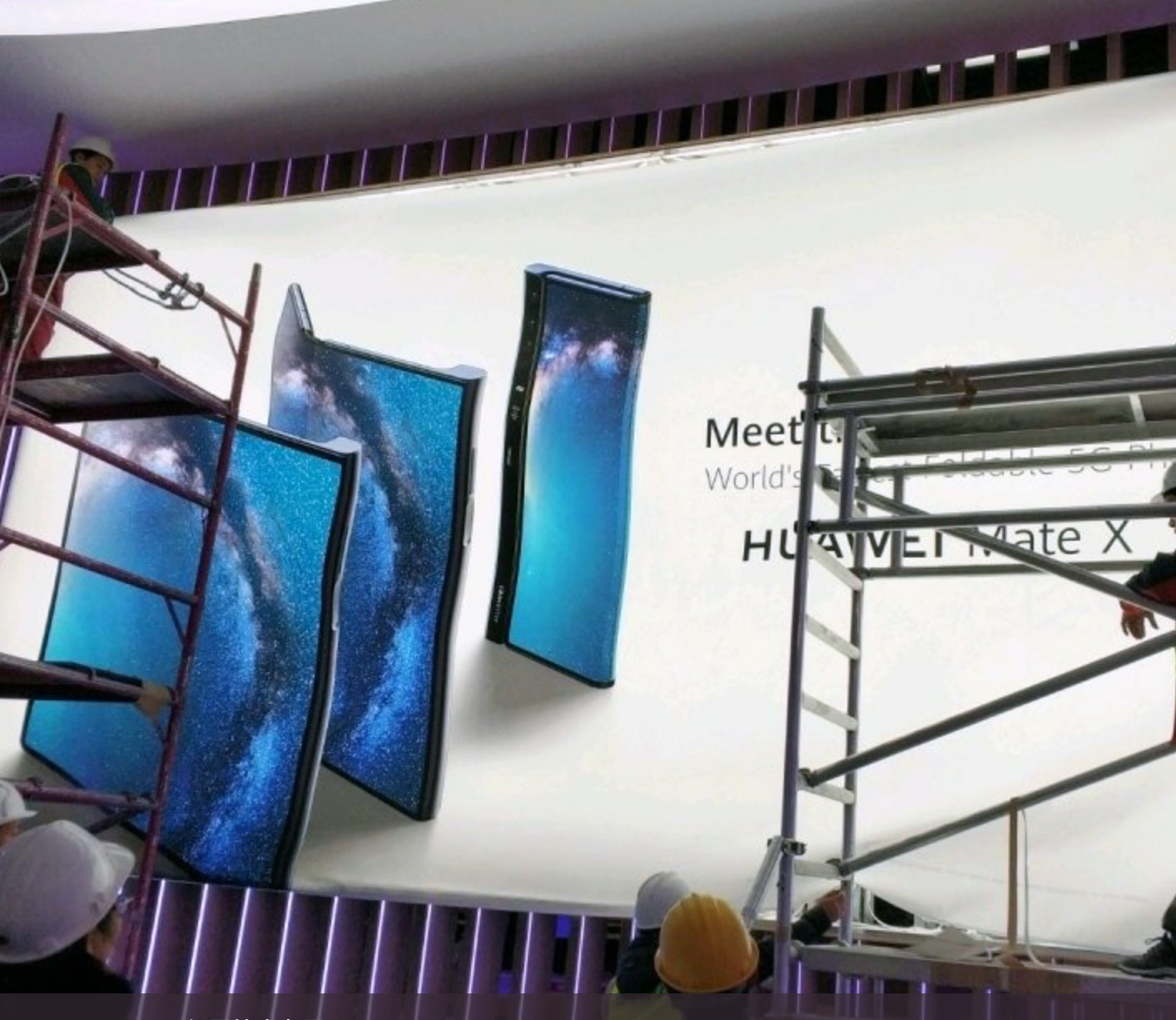 Huawei Mate X 5G Foldable Phone