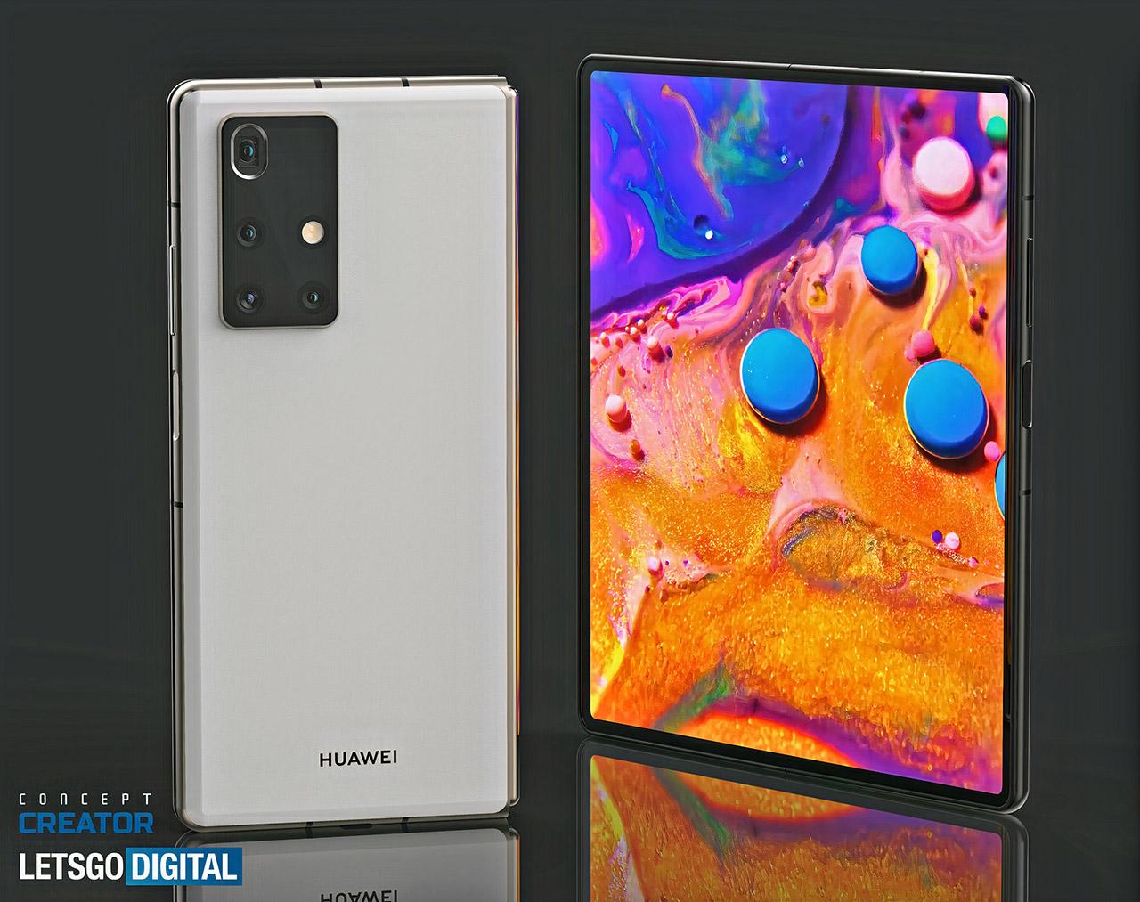 Huawei Mate X2 Foldable Smartphone Leak