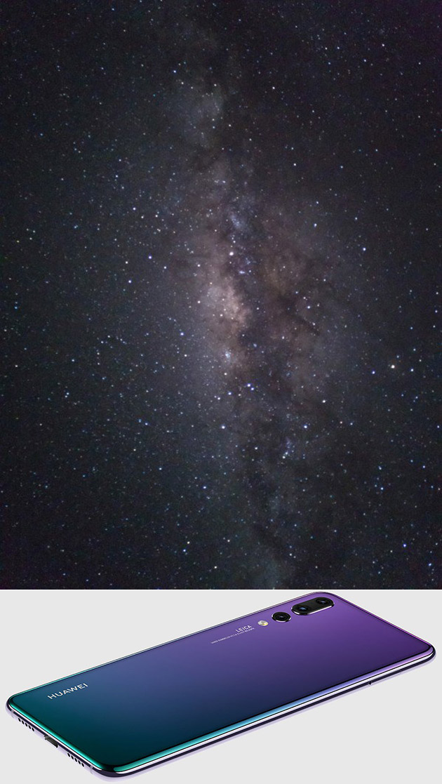 Huawei P20 Milky Way Galaxy