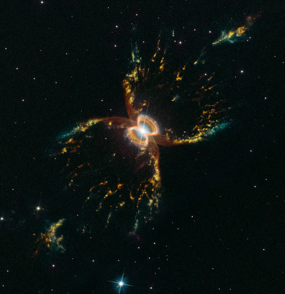 Hubble Crab Nebula