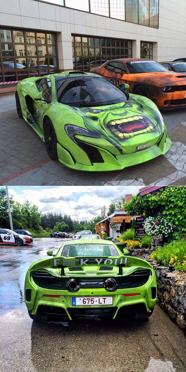 Hulk McLaren 675LT