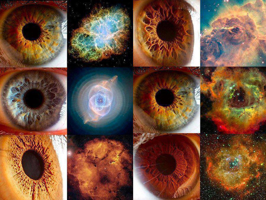 Human Eye Galaxies
