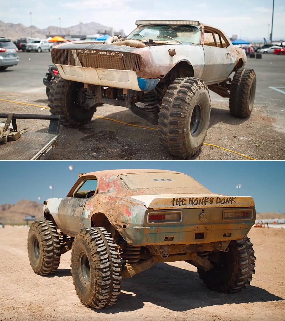 Hummer Camaro Monster