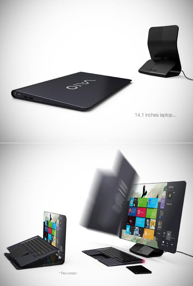 Hybrid Sony Laptop