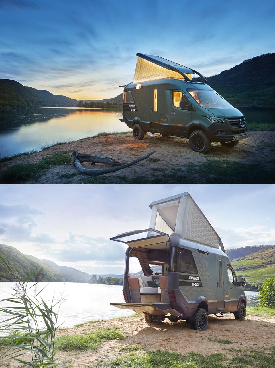 HYMER VisionVenture Expedition Camper Van