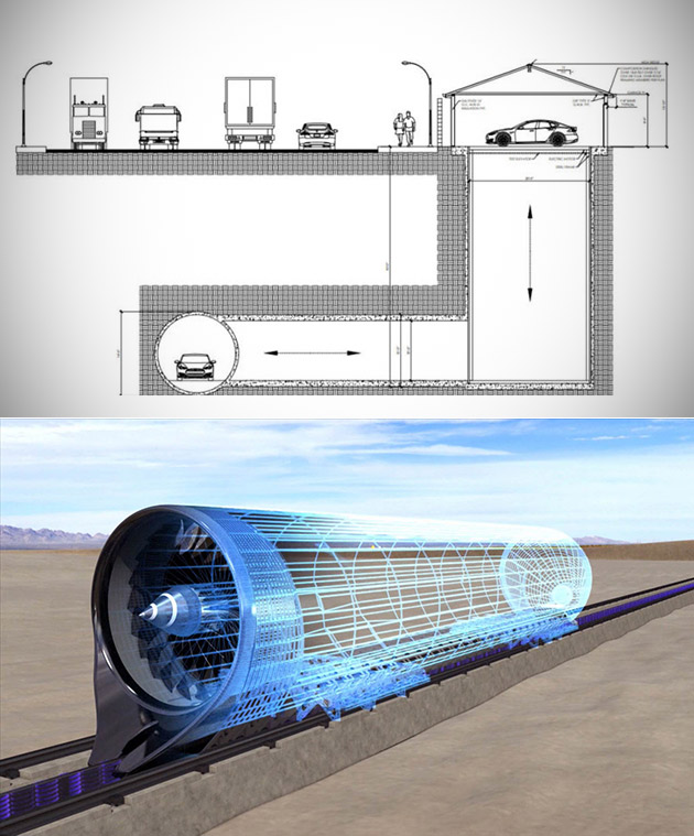 Hyperloop Garage