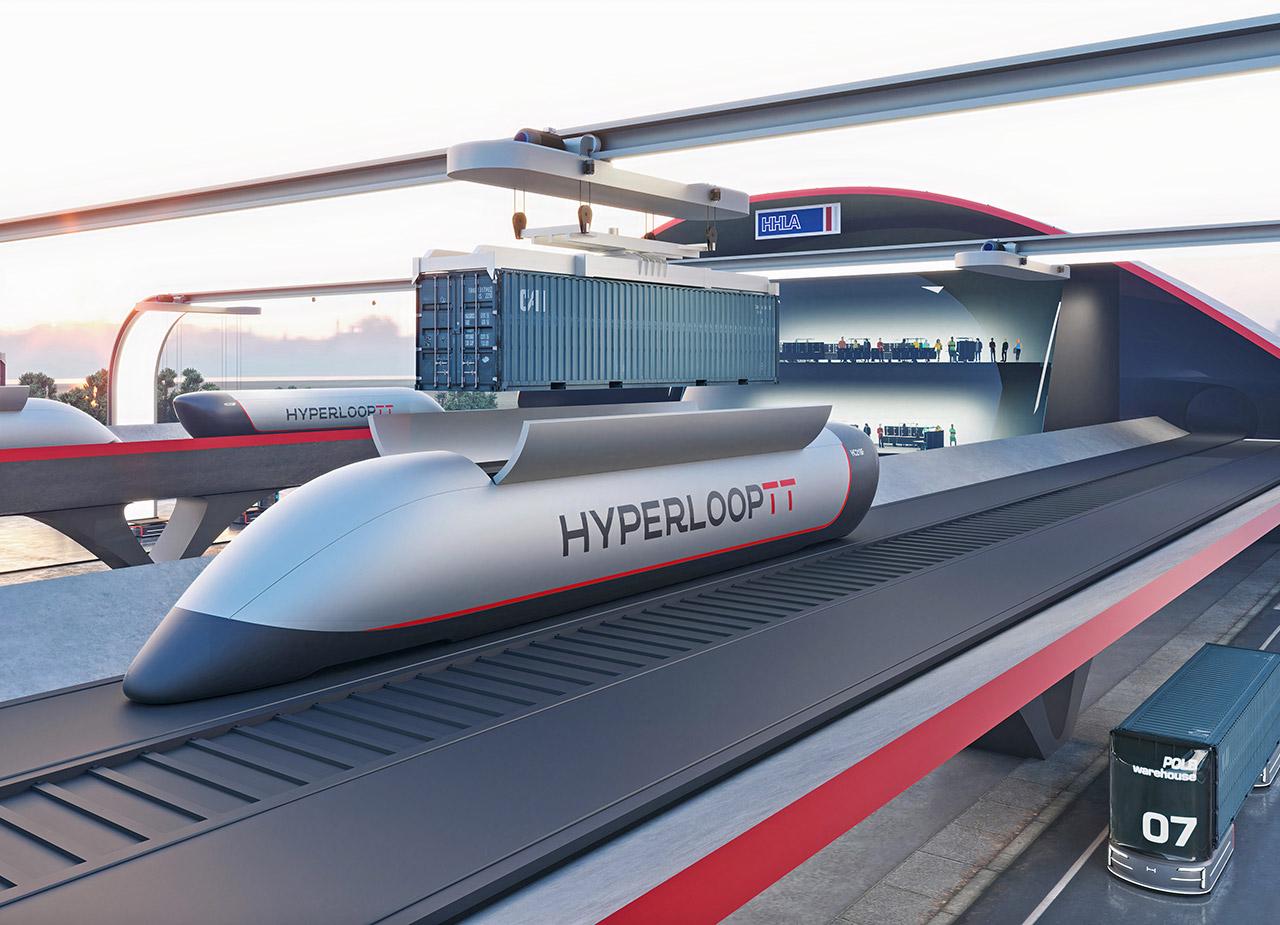 HyperPort HyperloopTT Transportation Technologies