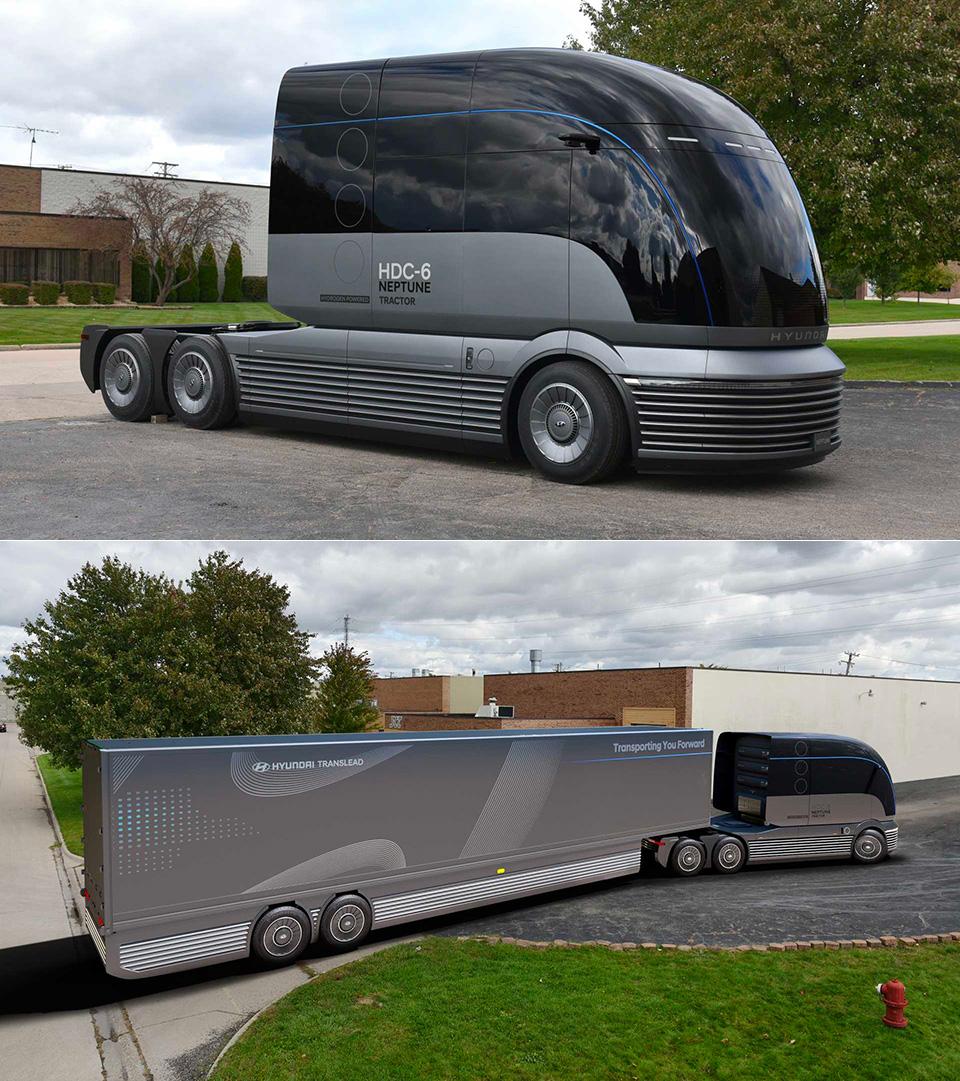 Hyundai HDC-6 Neptune Concept Truck