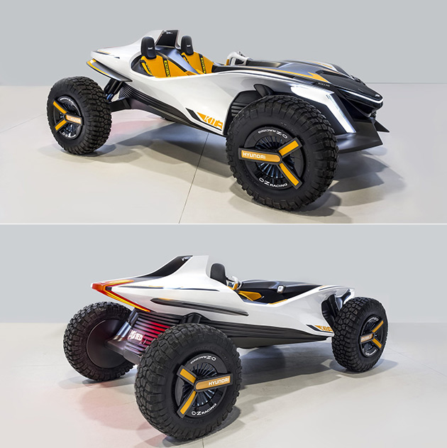 Hyundai Kite is an Electric Dune Buggy That Can Transform Into a Jet Ski