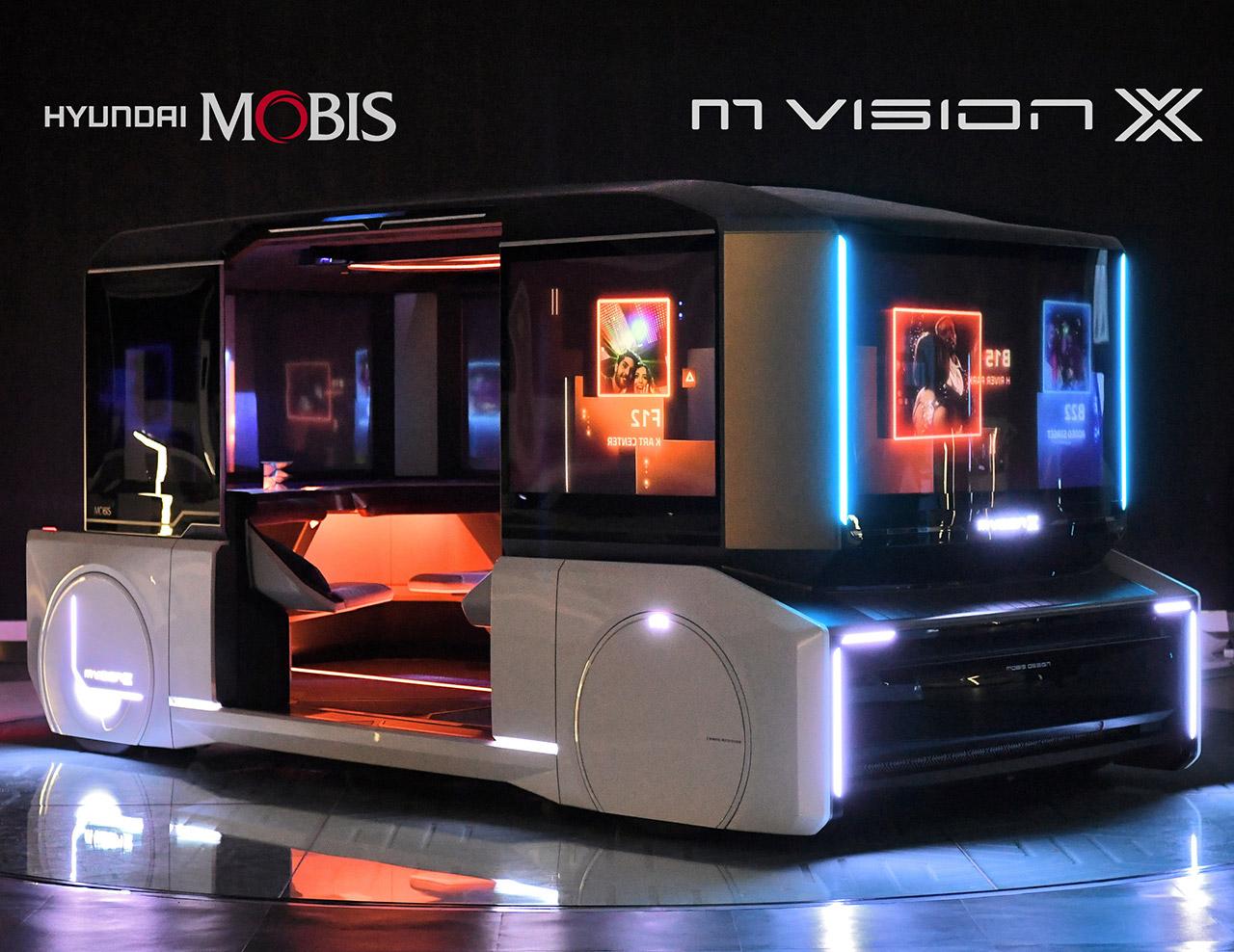Hyundai Mobis M.Vision X Pop