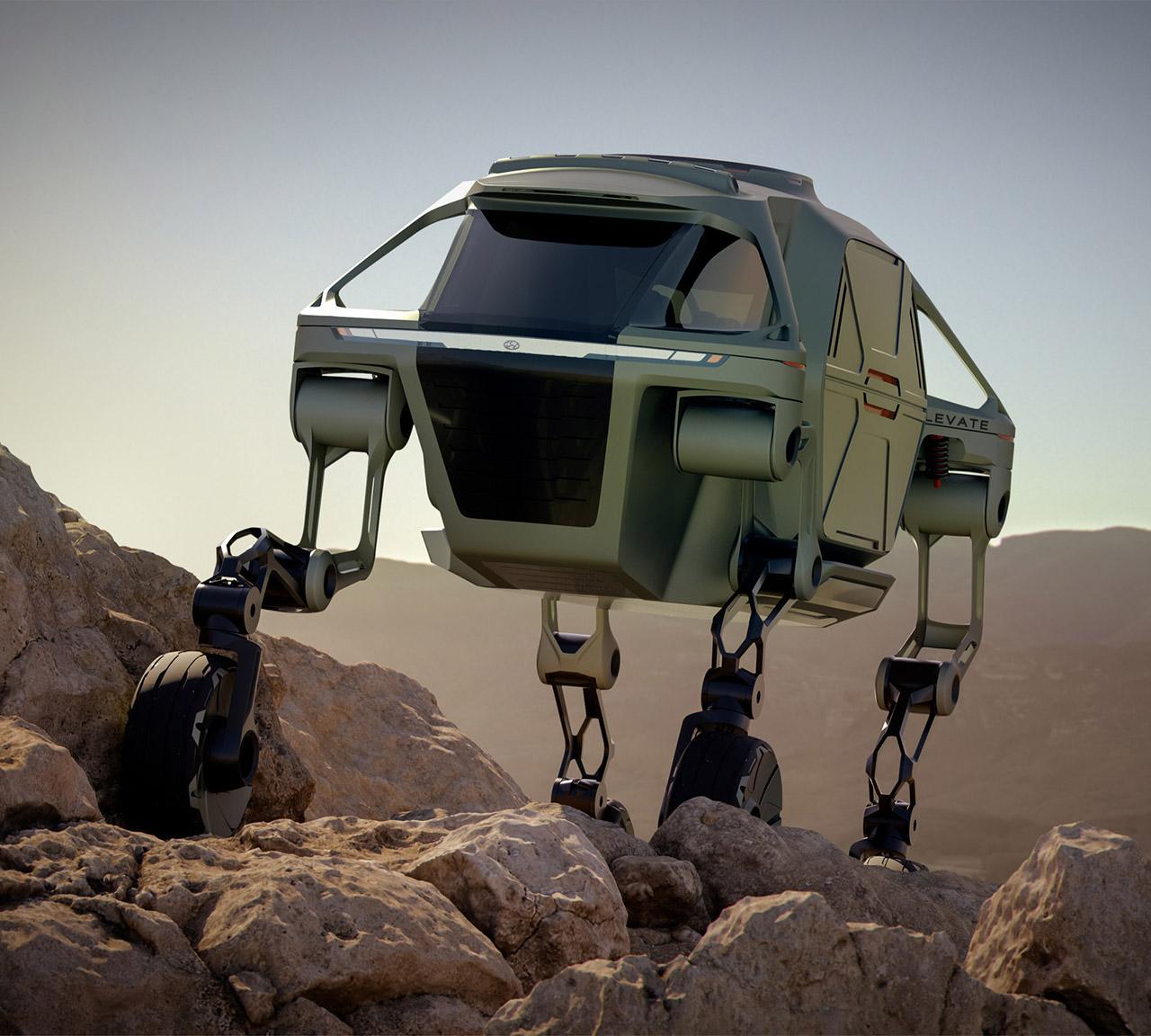 Hyundai New Horizons Studio Elevate Cradle Robot