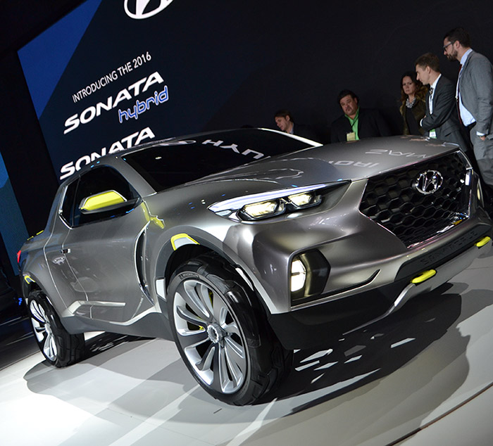 Hyundai Santa Cruz Crossover