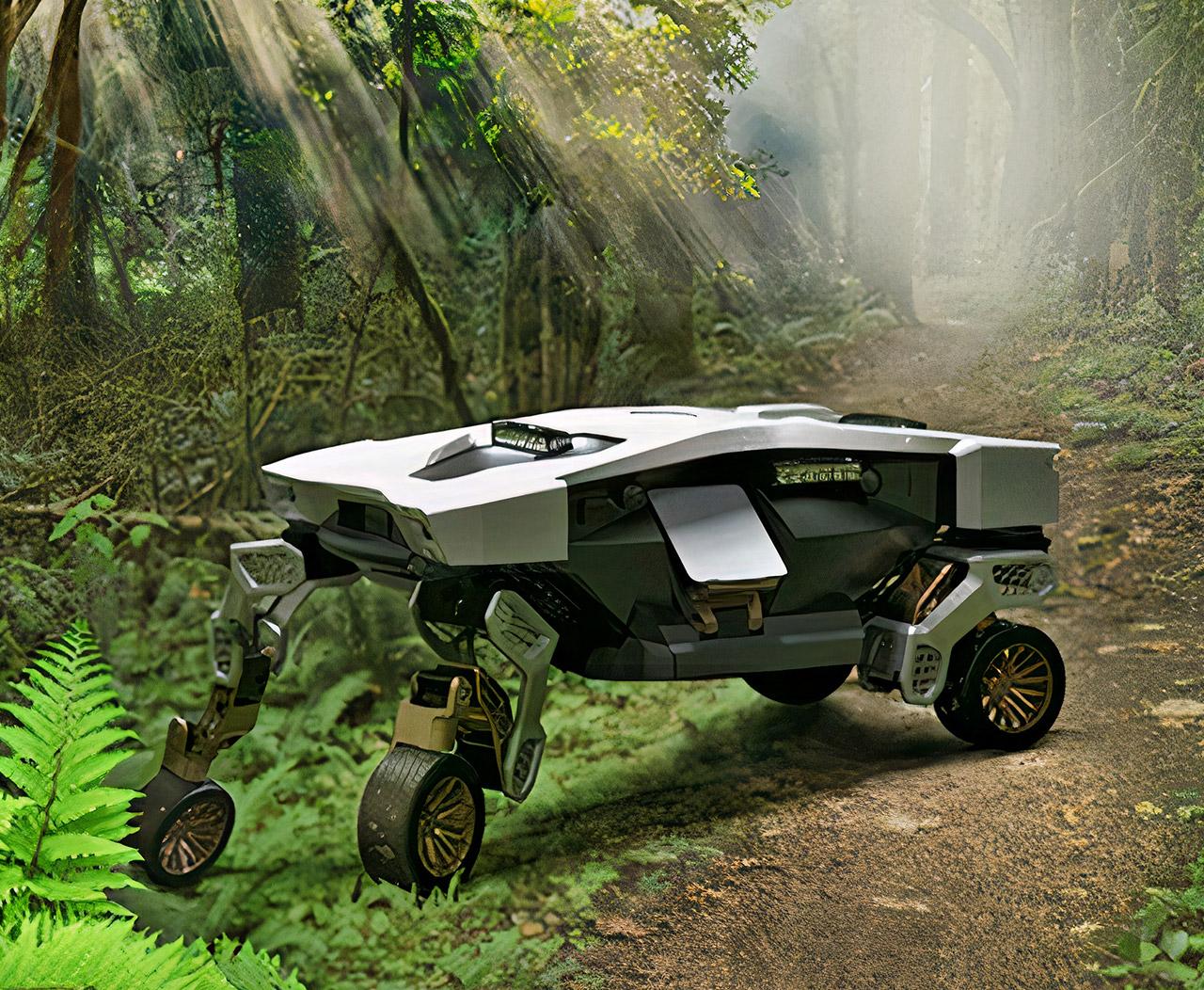 Hyundai TIGER Mobility Vehicle Concept