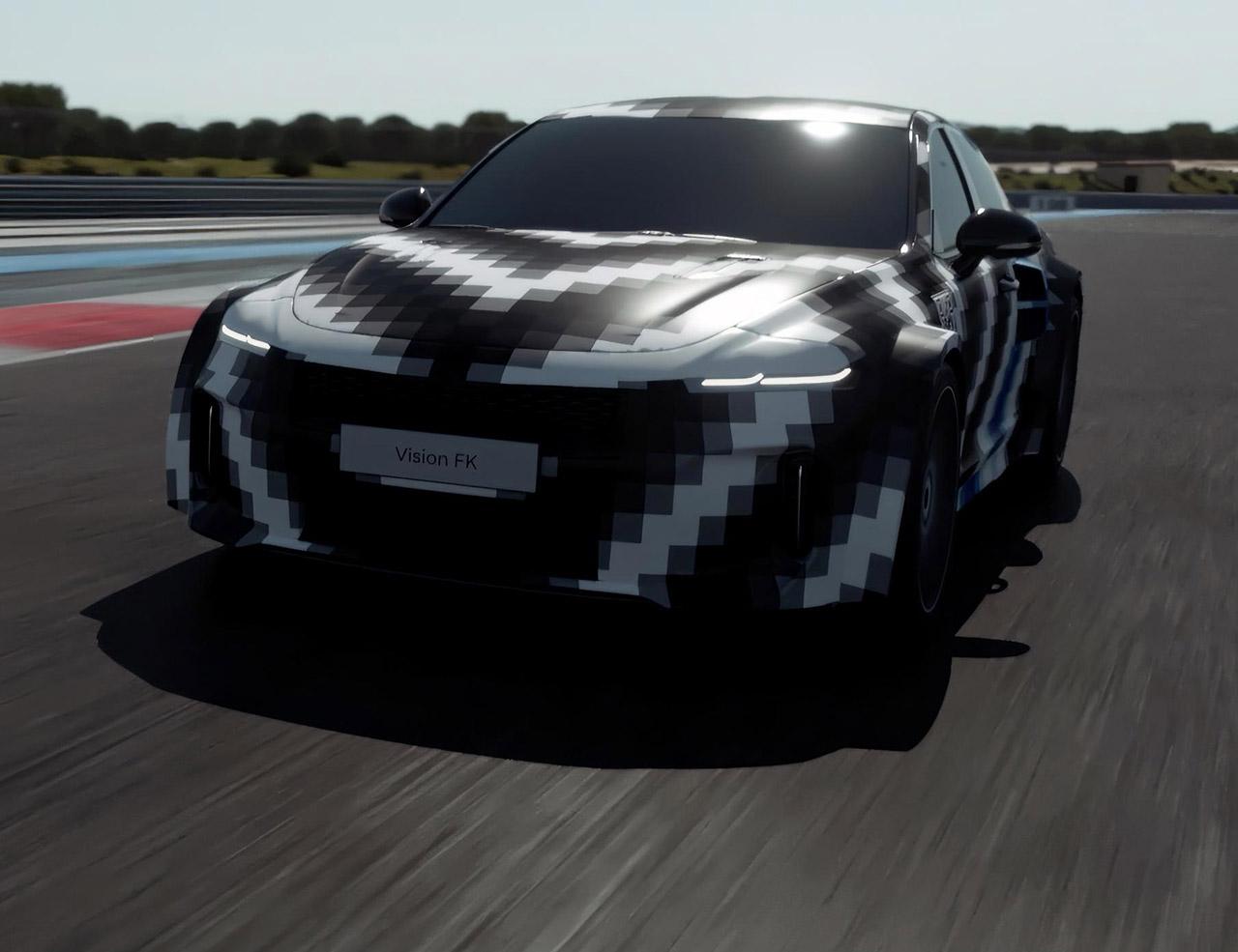 Hyundai Vision FK Hydrogen Powered Car