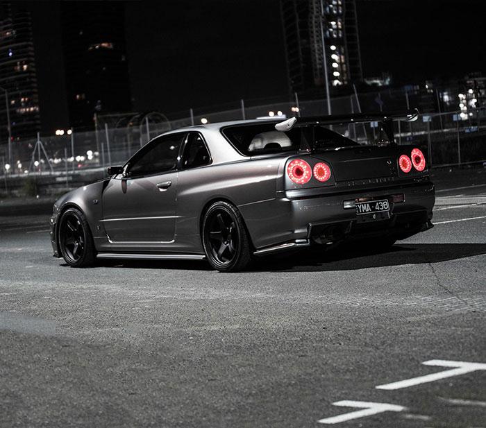 1000HP Nissan R34