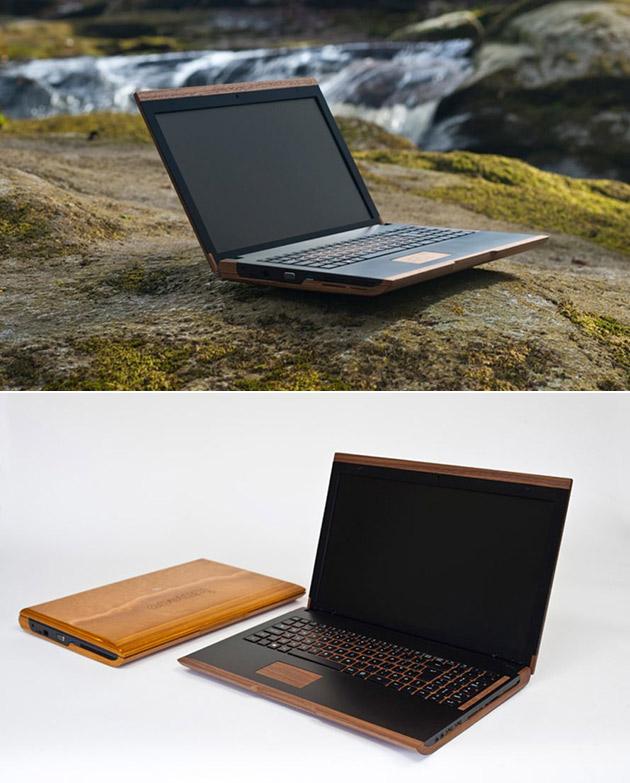 Iameco Wooden Laptop