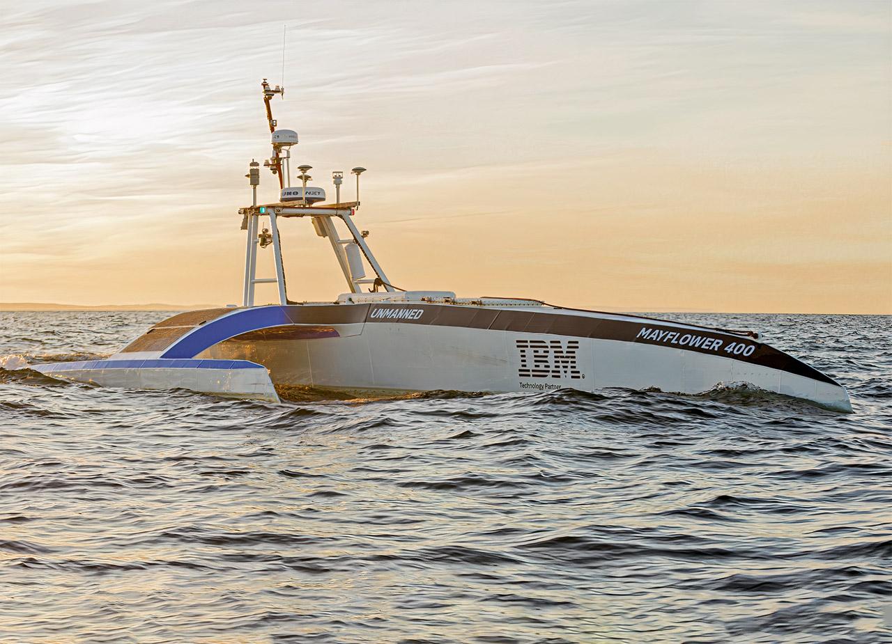 IBM AI-Powered Mayflower Autonomous Ship