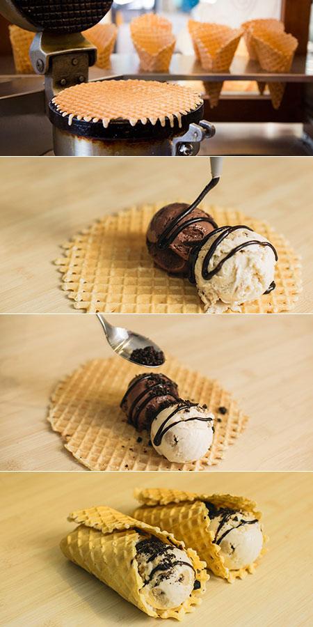 Ice Cream Burrito