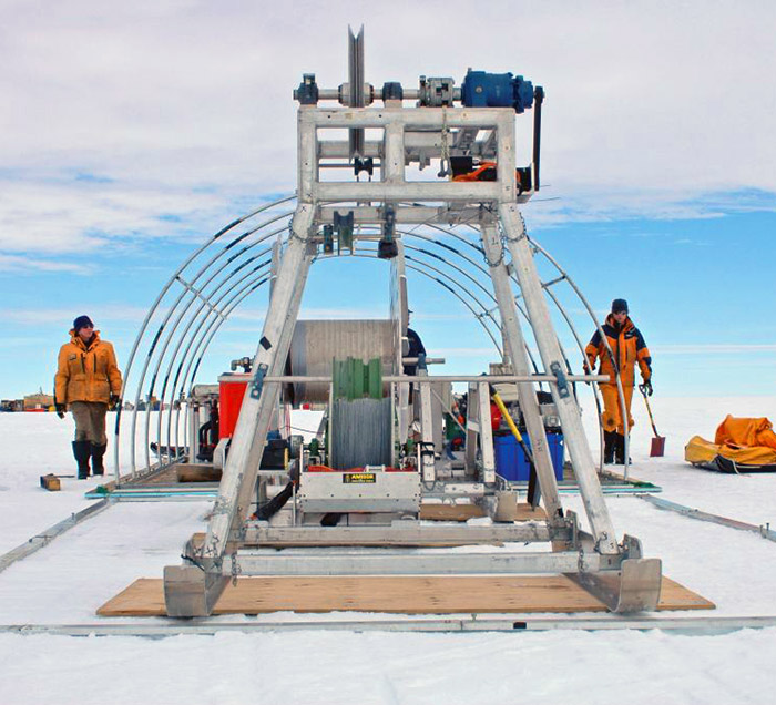 They Drilled 2,400-Feet Into Solid Ice, But They Didn't