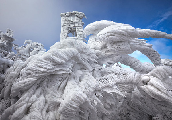 Ice Formations Mountain