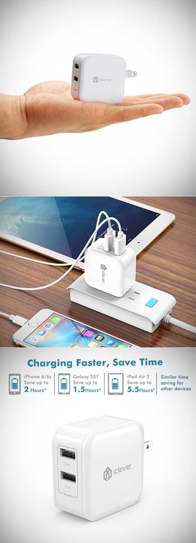 iClever Wall Charger