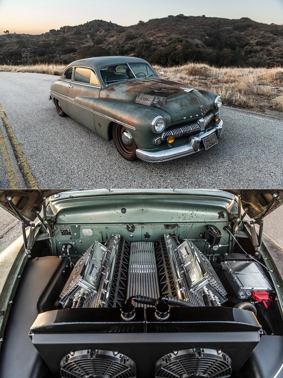 ICON Tesla 1949 Mercury Coupe