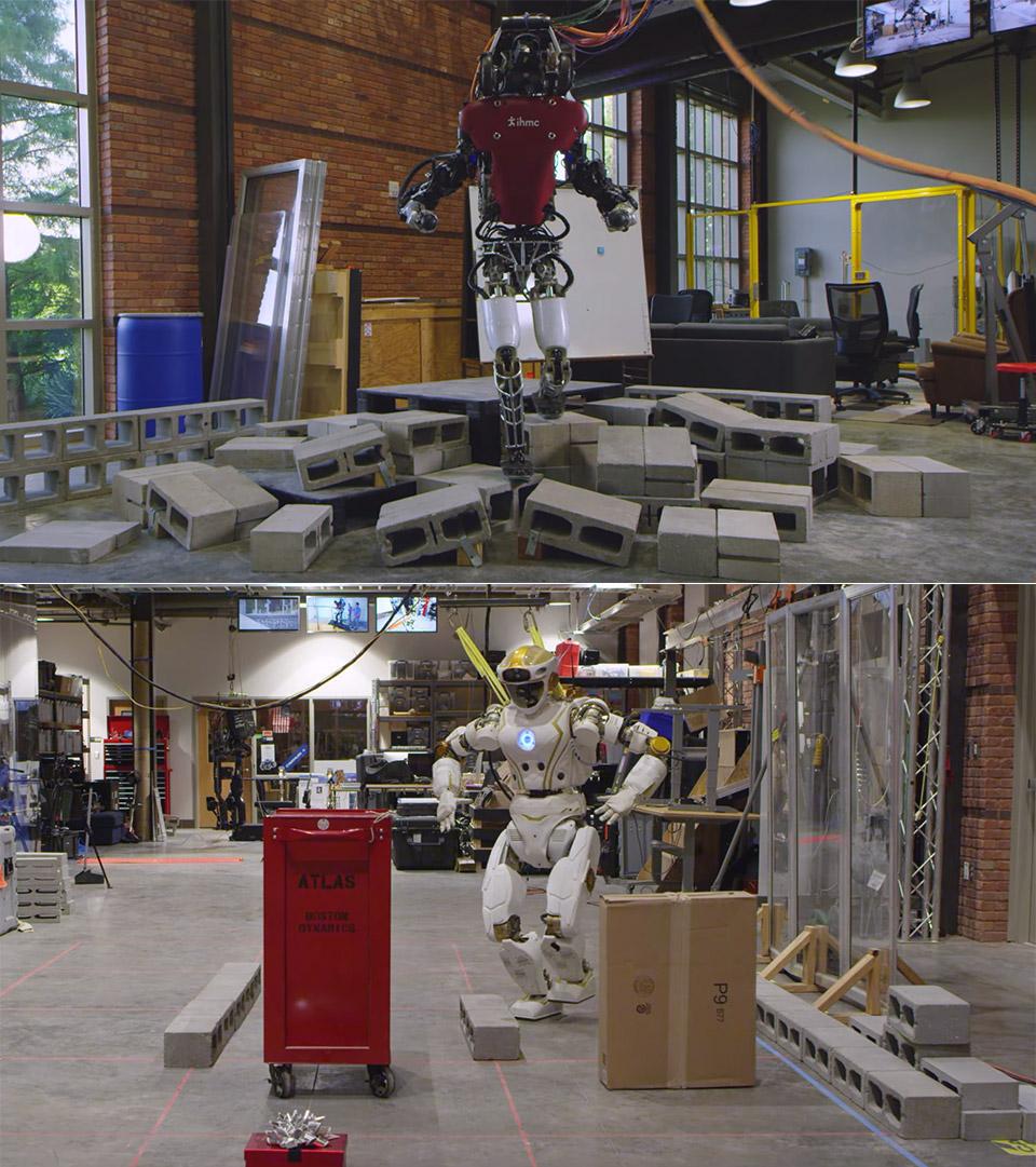 IHMCS Atlas Valkyrie Robot