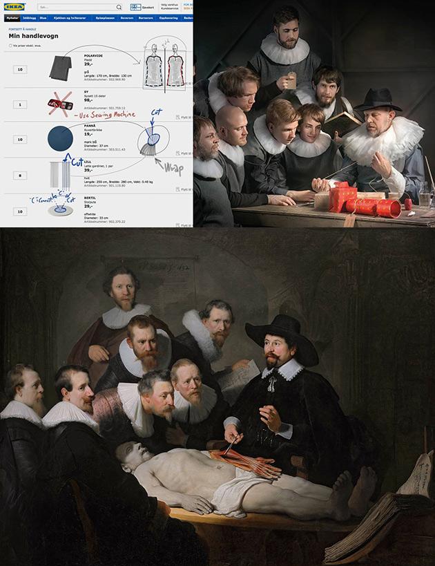 IKEA Rembrandt