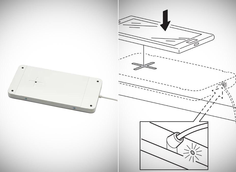 IKEA SJOMARKE Qi Wireless Charging Pad Battery