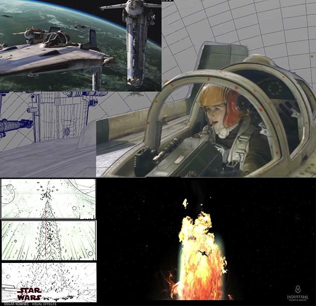 ILM Bombing Run Last Jedi
